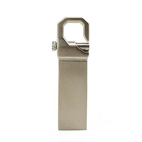 Usbkingdom 32GB USB 2.0 Flash Drive Waterproof Metal Key Hook Design Pendrive Memoria USB Memory Stick Thumb Drive