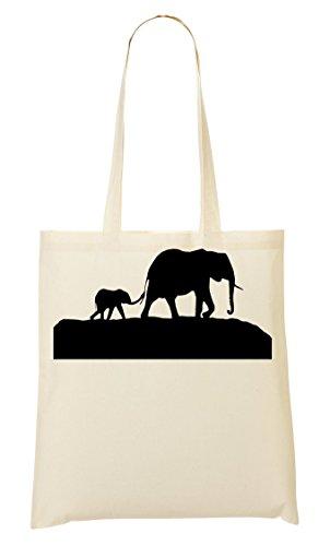 Shopping Shopping Elefanti Borsa A A Mano Borsa Elefanti Mano dwqfIqa