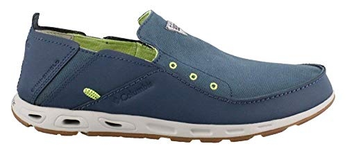Columbia Men's, Bahama Vent PFG Slip on Boat Shoe Navy 11 M