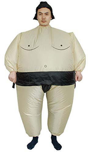 Inflatable Costumes Adult/Kids,Halloween Japanese Samurai Wrestler Wrestling Suits Blow up Cosplay Costume(Adult) by SATUKI