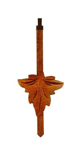 Cuckoo Pendulum - August Schwer Cuckoo Clock Pendulum hand carved