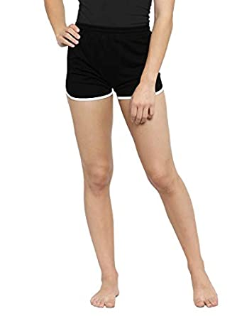 THE BLAZZE 1010 Women's Yoga Sport Fitness Running Workout Short Pant Cotton Women's Shorts Shorties Shorts for Women
