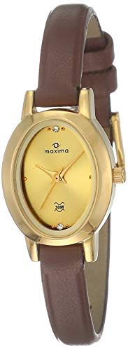 Maxima Analog Gold Dial Women's Watch - 39890LMLY (B06XSHVMW1) Amazon Price History, Amazon Price Tracker