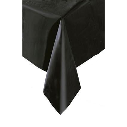 225 & Midnight Black - Plastic Table Cover