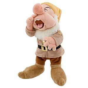 Disney Seven Dwarfs Sneezy Plush Toy - 11