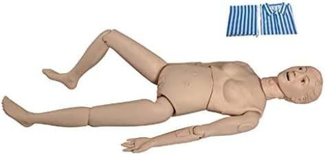 LUCKFY Multi-Functional Female 165cm Combination Nursing Training Manikin Patient Care Simulator Nursing Mannequin Lab Equipment Educational Training Aid Teaching Tool