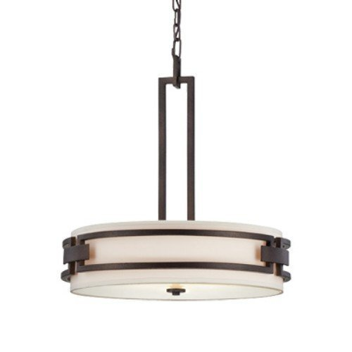 Designers Fountain 83831-FBZ Del Ray Hanging Pendants, Flemish Bronze by Designers Fountain -