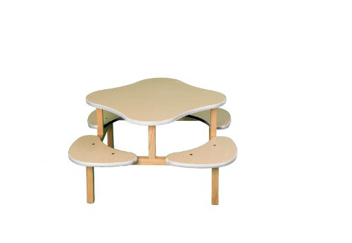 Wild Zoo Furniture Childs Play Table for 1-4 Kids, Ages 2 to