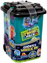The Trash Pack Mystery Series Ghostly Wheelie Bin with 2 Excluive Trashies Gross Ghosts ()