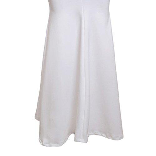Formal Boda Maxi Noche blanco Cóctel Mujeres Honor de Ropa Vestido Especializada m Dama Fiesta de Magideal Noche Formal 5Pvxwtxaq