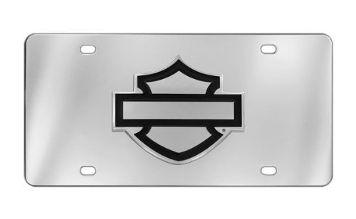 Harley-Davidson Decorative Vanity Front License Plate with 3D -