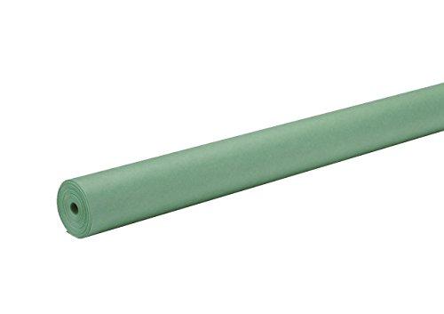 Rainbow Duo-Finish Kraft Paper Roll, 40 lbs, 48 Inches x 200 Feet, Bright Green