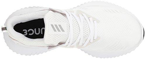 adidas Men's Alphabounce Beyond Running Shoe white/Silver Metallic/White, 7.5 M US by adidas (Image #7)
