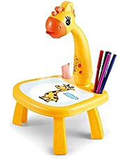 Ktoyols Children Learning Desk Trace and Draw Projector Art Drawing Board Projection Tracing Painting Table Toy Early Educational Gift for Boys Girls Over 3 Year Old