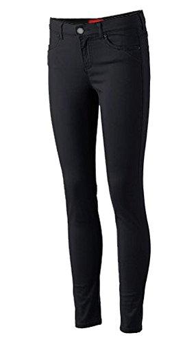Pro 5 Girls Junior School Uniform Skinny Stretched Pants Black/Navy/Khaki/Grey 0~15