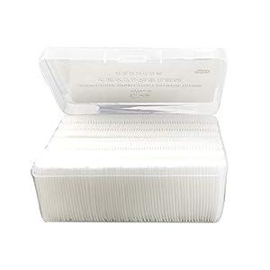 128pcs Cotton Pads Makeup Remover Pads Nail Polish Remover Facial Cleaning Pad Set Facial Skin Care