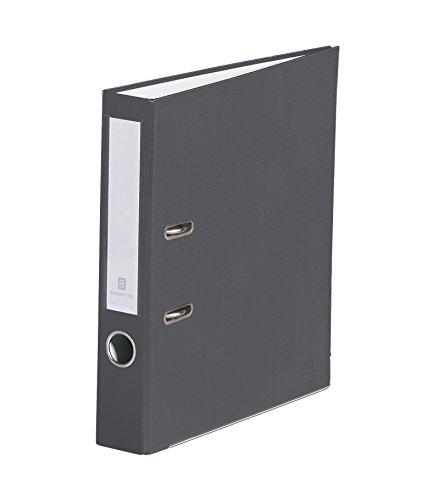 Bindertek 2-Ring 2-Inch Premium Linen Textured Binder, Dark Gray (SLN-DG)