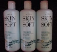 Lot Of 3 Avon Skin So Soft Original Body Lotion