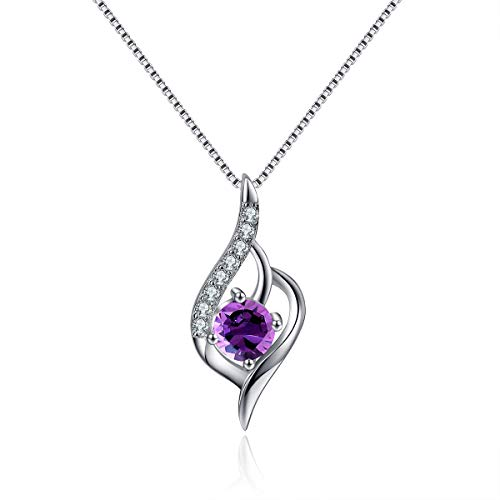 ASHINE-Angel-Wing-Necklace-Sterling-Silver-Necklace-Created-December-Birthstone-Necklace