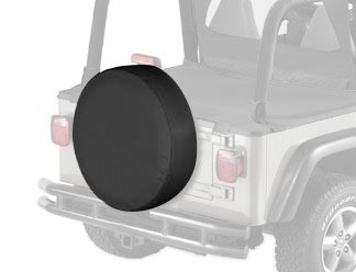 Bestop 61033-15 Black Denim XX-Large Tire Cover for tires 33
