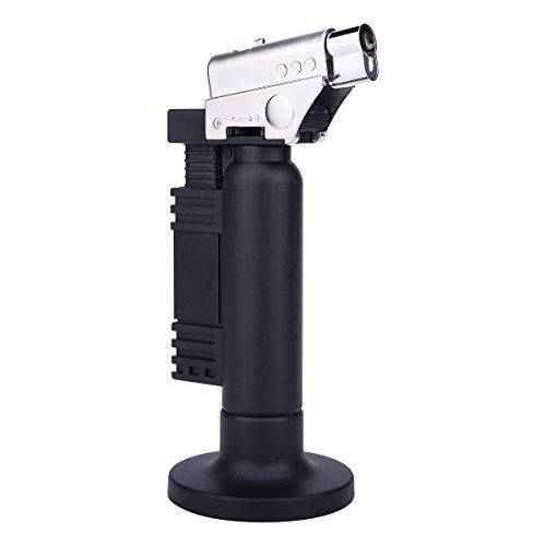 Windproof Cigarette Cigar Torch Lighters Single Jet Flame Lighter (Torch Single)