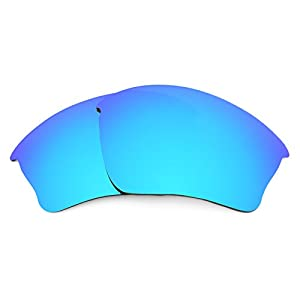 Revant Polarized Replacement Lenses for Oakley Half Jacket XLJ Ice Blue MirrorShield