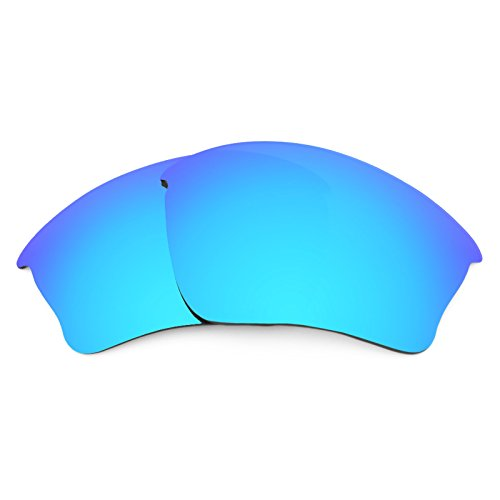 Revant Replacement Lenses for Oakley Half Jacket XLJ Polarized Ice Blue MirrorShield (Blue Lens)