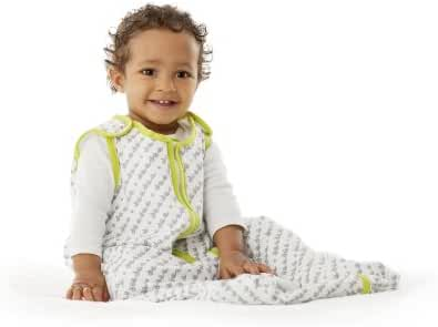 Baby Deedee Sleep Nest Lite Baby Sleeping Bag, Lime, Medium (6-18 Months)