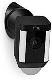 Wall Mount Black - Spotlight Cam Wired