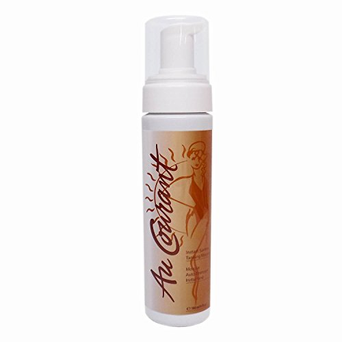 Au Courant Sunless Tanning - Au Courant INSTANT SUNLESS MOUSSE with Bronzer - 6 oz.