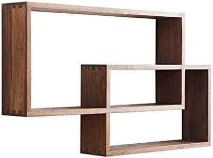 Estantería llena-madera maciza
