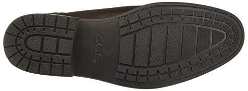 Men's Shoes Plain Leather Truxton Brown Dark Clarks Business qta6gXxnw