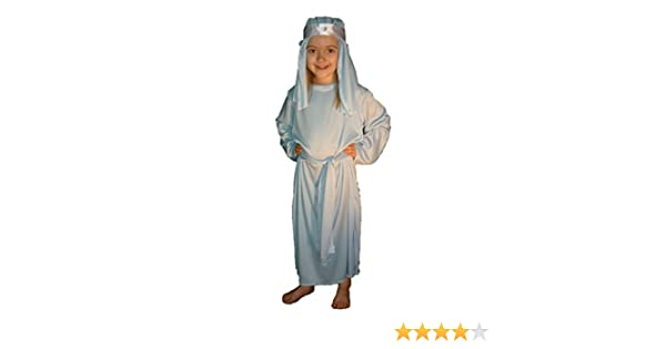 Virgin - Disfraz de belén para niña, talla M (j mary/7-9): Amazon ...