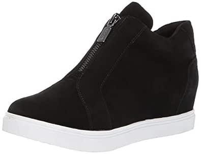 Blondo Women's Glenda Shoe, Black Suede, 5.0 Medium US