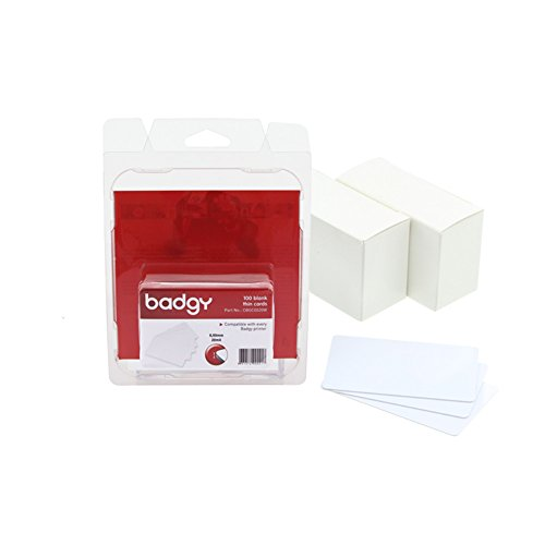 Card Badgy Pvc (BDGCBGC0020W - Evolis Badgy Thin PVC Plastic Cards)