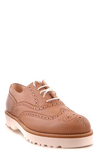 Hogan Mujer MCBI148111O Marrón Cuero Zapatos De Cordones