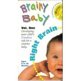 Brainy Baby Right Brain - Brainy Baby Vol. One - Right Brain [VHS]