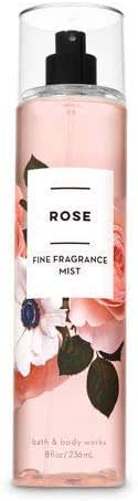 Bath & Body Works Rose Fine Fragrance Mist, 8 Fl Oz
