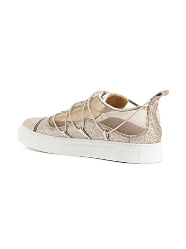 Oro SNW0507292000017043 DSQUARED2 Donna Glitter Slip Sneakers On w4qSaY