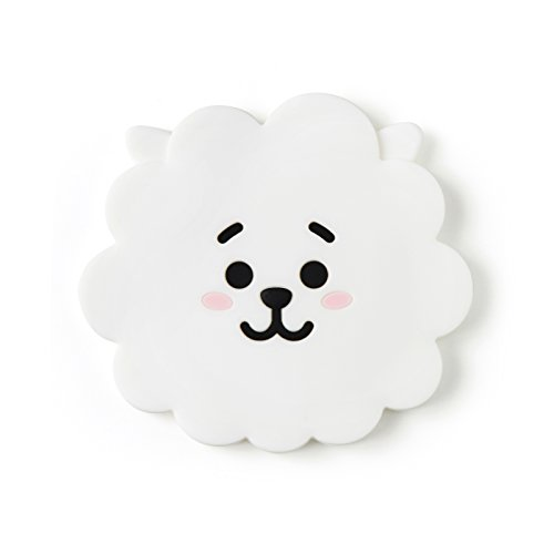 BT21 RJ Silicon Hand Mirror One Size ()