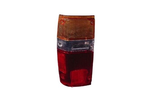 Toyota Pickup Brake (1984-1988 Toyota Pickup Truck & 1984-1989 4-Runner 4Runner Taillight Taillamp Rear Brake Tail Light Lamp (LENS ONLY) Pair Set Left Driver AND Right Passenger Side (1984 84 1985 85 1986 86 1987 87 1988 88 1989 89))