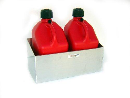 Pit Posse Fuel Jug Dbl Rack-Fits Two 5 Gallon Jugs by Pit Posse
