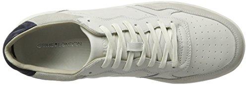 CRIME London Herren Mcnroe Sport Sneaker Weiß (Weiß)