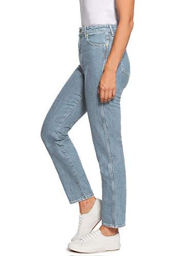 Clair H Slim Taille Fit Jean Mom Hiamigos Haute Bleu hrCxtsQBd