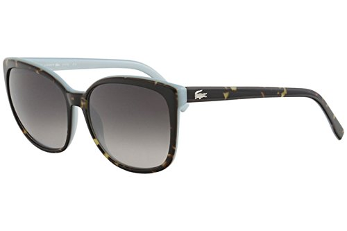 Lacoste Women's L747S Cateye Sunglasses, Brown, 57 mm