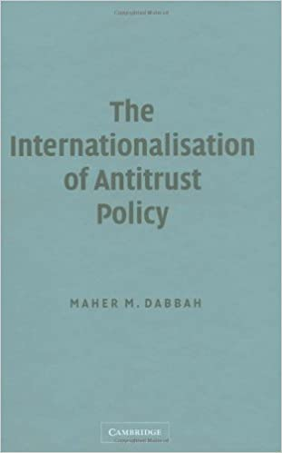 The Internationalisation of Antitrust Policy