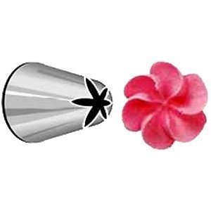 2D Wilton Flower Nozzle - Ideal for Piping Buttercream Rose Swirls COMINHKR000552