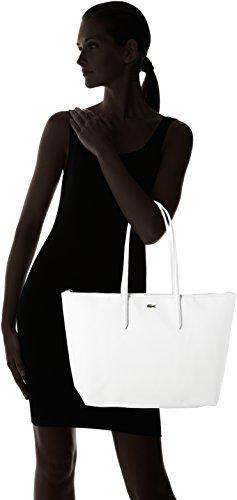 Nf1888po 5 x 29 White bandouliere Sac x Lacoste Femme Bright 35 cm 14 XF8dXq