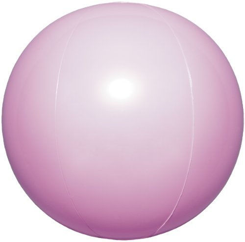 Cartoon Beach Ball - Igarashi Inflatable Beach Ball Pearl Pink