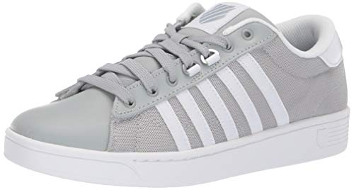 K-Swiss Women's Hoke T CMF Sneaker, Mirage Gray/White, 5.5 M US